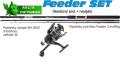 AKCIE Feeder 3,3m/80g + feeder baitrunerový navijak