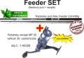 AKCIE Feeder 3,6m/80g + navijak zadná brzda a silon