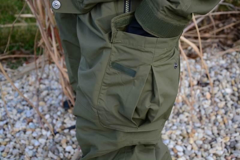 4d16f8c90dda Geoff Anderson Urus 5 Leaf nohavice zelené - Nohavice nepremokavé ...