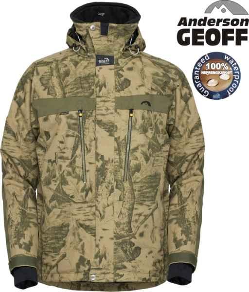Geoff Anderson Dozer 5 Leaf bunda maskáčová - Rybárske oblečenie ... 3a34364e205