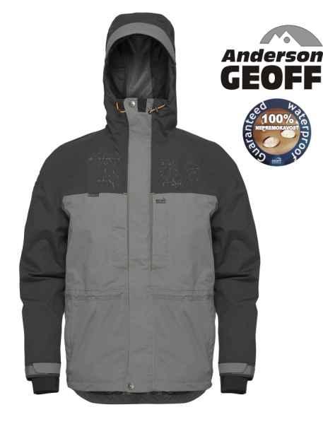 Geoff Anderson Barbarus bunda šedo-čierna - Rybárske oblečenie ... f8a5887102c