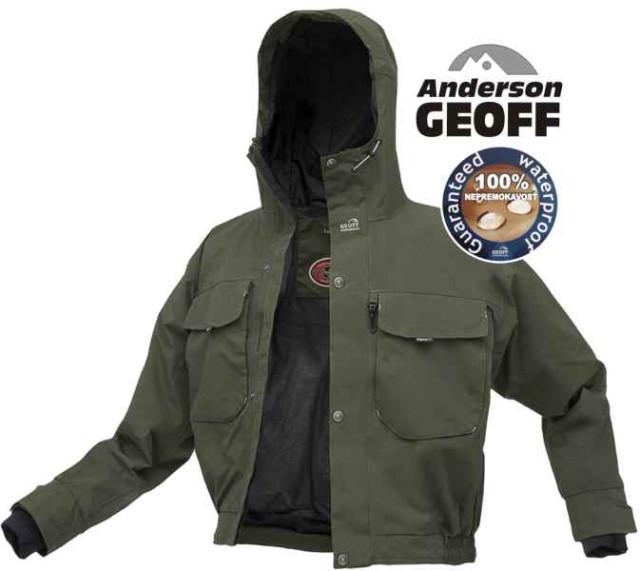 Geoff Anderson RAPTOR 5 bunda zelená - Rybárske oblečenie - bundy ... 5ddfc36cef2