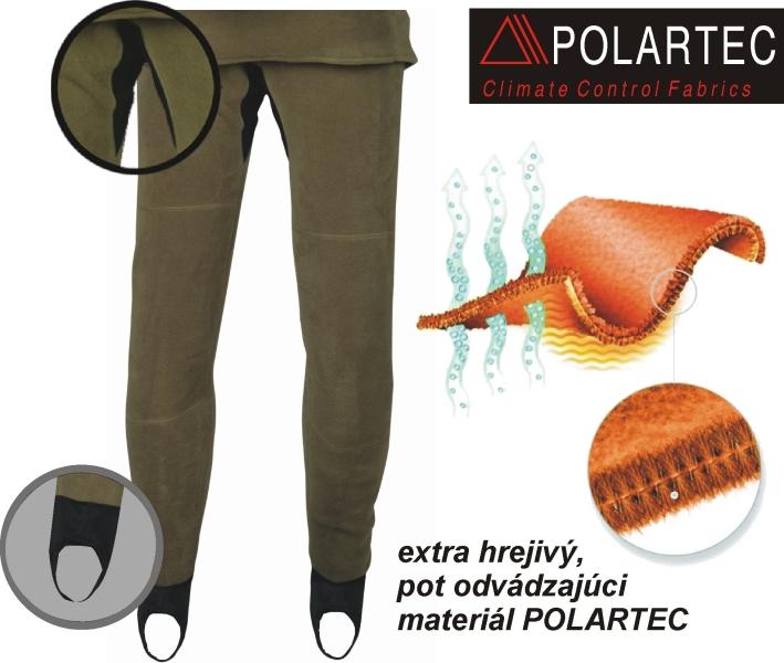 94e42f094c93 Fotogaléria k produktu THERMAL Pro nohavice- termo flís GEOFFAnderson.  Pohodlné termo nohavice ktoré vám nebudú brániť v pohybe