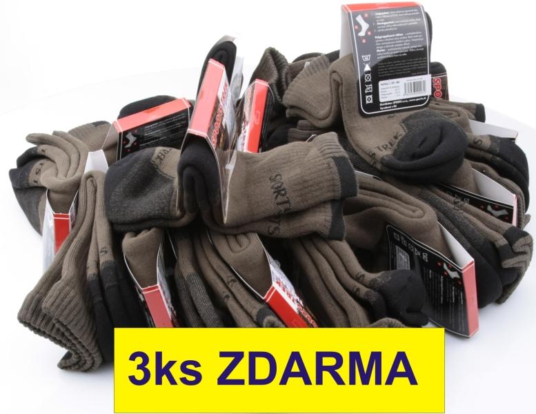 57724ea112a AKCIE Ponožky Thermo 15ks+3 ZADARMO - Rybárske potreby E-SHOP