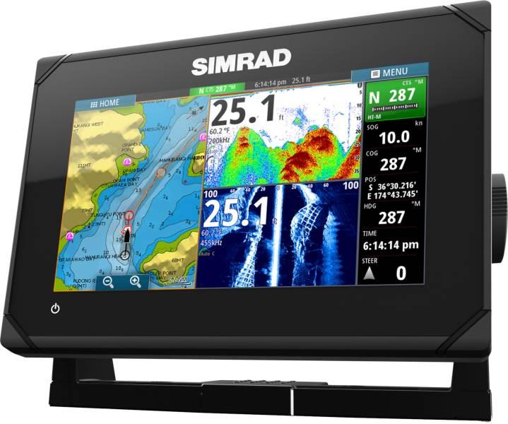 Sonar SIMRAD GO7 Chirp/DSI