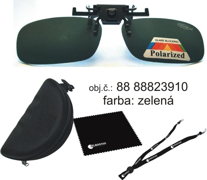 90e1cc480 Polarizačný klip na okuliare Albastar, sklo-zelené - OKULIARE, KLIPY ...