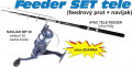 Feeder set 3,6m, 100 gram + navijak + silon