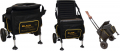 Black Magic Trolley Comfort Box debna na sedenie
