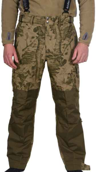 803786c0811c Geoff Anderson Urus 5 Leaf nohavice maskáčové - Nohavice nepremokavé ...